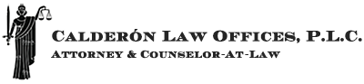 Calderón Law Office Logo